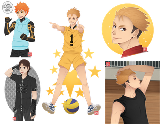 Haikyuu!! - requests batch 1 by zero0810