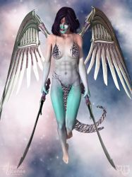 The Empyrean Warrioress by RavenMoonDesigns