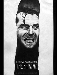 Jack Nicholson The Shining by BannerGraphics