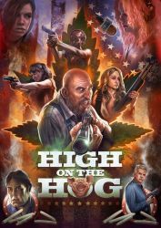HIGH on the HOG Movie poster by WacomZombie