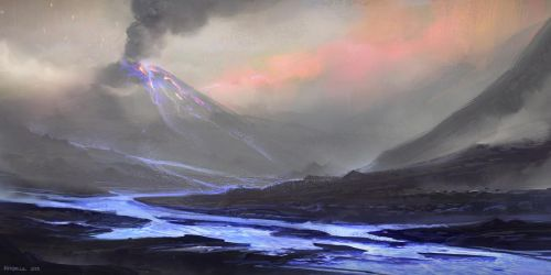 Blue Lava by SourShade