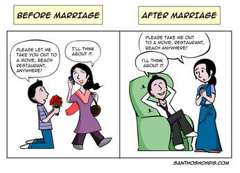 Before and After Marriage by jackbliss
