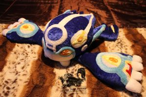 Primal Kyogre Plush - Pokemon Alpha and Omega
