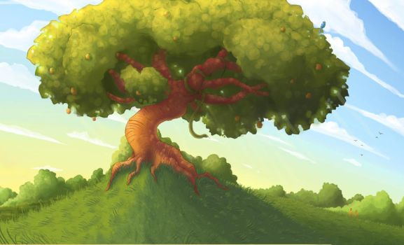 The Tree of Knowledge by NuclearMango