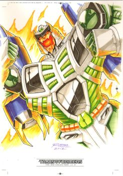 Thunderwing #2 for Transformers IDW Limited Vol 2 by REX-203