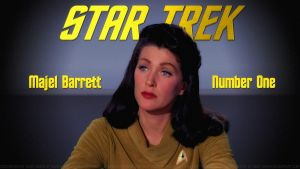 Majel Barrett Number One by Dave-Daring
