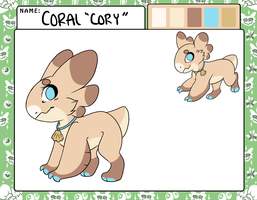 Cory Ref | ACCEPTED by Taeqii