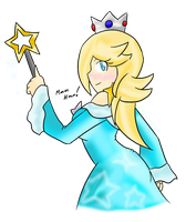 Rosalina's Side Taunt by Xero-J