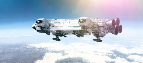 Space: 1999 - Frontier Eagle by Tenement01