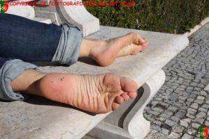 Beatrice's Dirty Feet 2 by Footografo