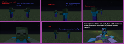 Minecraft: why you don't see allot of girl zombies by thelakotanoid1