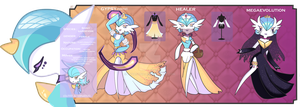 Saray the gypsy gardevoir (OC)description by lunasonica