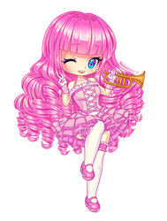 Pinkie Pie of MLP [Chibi] by Nukababe