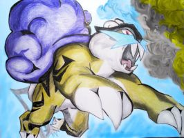Raikou Fan-art by Electric-Meat