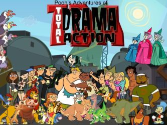 Pooh Adventures of Total Drama Action by magmon47