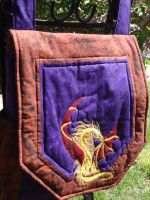 Dragon Backpack by KnottyCovers