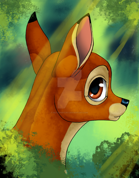 Bambi by WolfPrint267