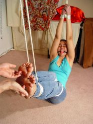 Desire Tickled on Bare Soles by pene4