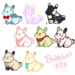 Bunnies O.T.A (OPEN) by Danidrawings