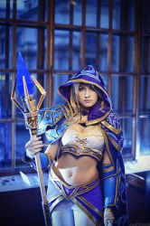 Jaina Proudmoore - Magic in the air by Narga-Lifestream