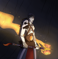 Grog and his Hammer by Viktormon