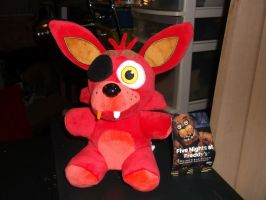 Foxy Plushie! by horse14t