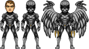Power Rangers Lomeli - Uriel Silver Eagle by UltimateLomeli