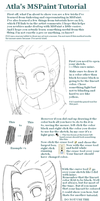 MSPaint Tutorial. by Atla-Chan