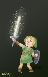 Link has a sword. by sexysexybicycle