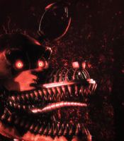 [Cinema4D FNaF4] Nightmare Foxy by xXBeteNoireXx