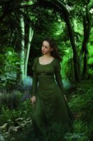 Maiden of the Emerald Forest by FairieGoodMother
