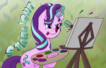 Starlight Painting - Colored version by CadetRedShirt