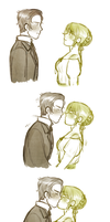 First Kiss by FlopyLopez