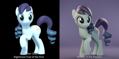 This model has already come such a long way... by TheRealDJTHED