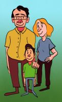 Family (editorial illustration) by ungoth