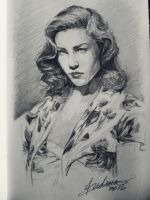 Madame Bacall by ANsDemons