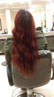 My Long Red Hair by Wolfblood11