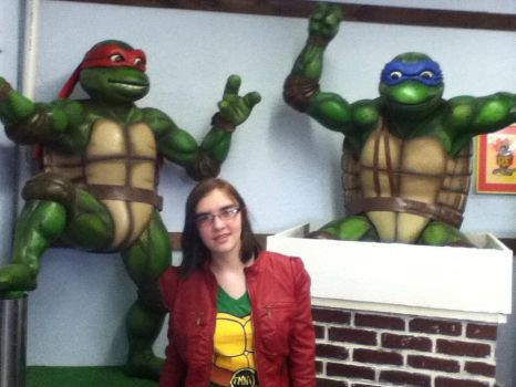 Leo And Raph And Me. by serenity-luvs-leo
