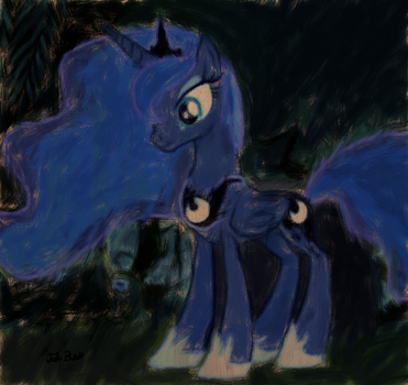 Princess Luna by Fazinks