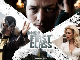 X-Men First Class Banner by SkinnyGlasses