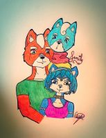 McCloud's Family by Wolfanasan