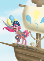 Pinkie Pierate by Alipes