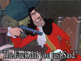 Don't tell Captain Hook that his Sucks by kouliousis