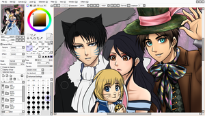 Alice in the Wonderland Snk Crossover (WIP) by Vhenyfire