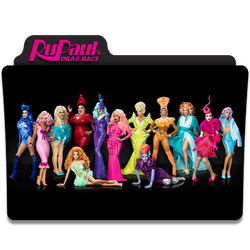 RuPaul's Drag Race - Folder Icon #02 by Wes-Hillebrand