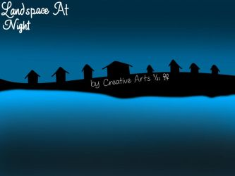 Soemmer Village (Night) by CreativeArts723