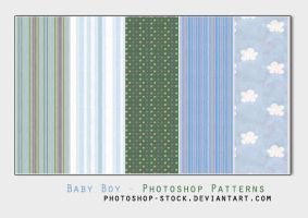 Baby boy - Photoshop Patterns by photoshop-stock