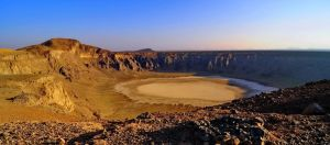 Al Wahbah Crater, Saudi Arabia by georgeparis