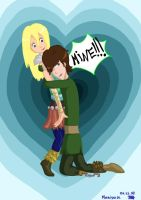 Astrid x Hiccup: Mine by Mariya14
