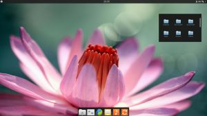 KDE4 Elementary Luna Desktop by half-left
